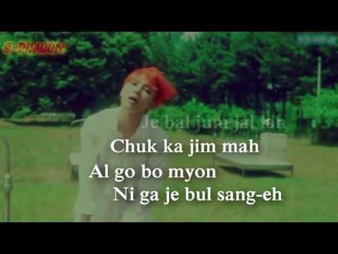 BIG BANG - Sober [Easy-Lyrics]