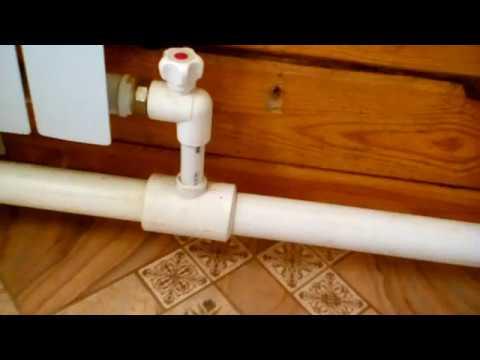 Обзор простой системы отопления в частном доме 8*14.