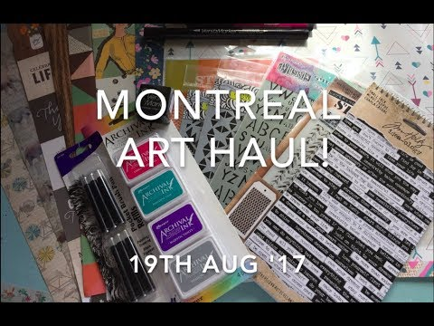 Montreal Art Haul