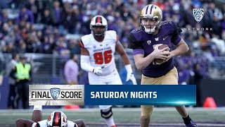 Recap: Jake Browning becomes the winningest quarterback in Pac-12 football history following...
