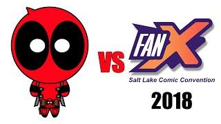Deadpool vs FanX Salt Lake Comic Convention 2018