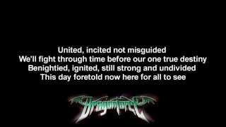 DragonForce - Defenders ft. Matt Heafy on screen Full