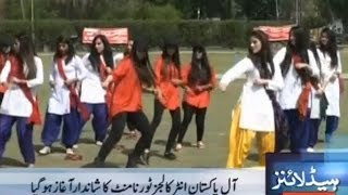 Girls Dancing at Kinnaird College at Dance and Sports Gala