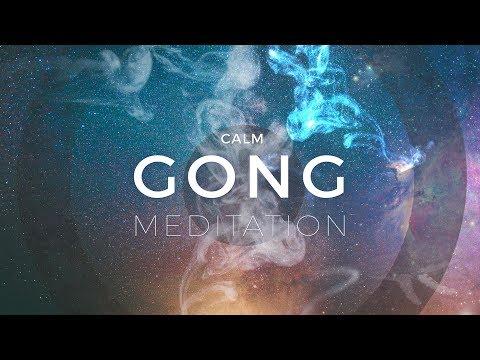Calm Gong Meditation Session - Tam Tam Gong & Crystal Bowls Music