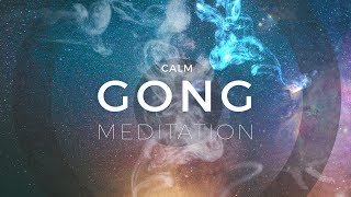 Gambar cover Calm Gong Meditation Session - Tam Tam Gong & Crystal Bowls Music
