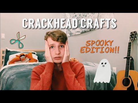 making halloween crafts with no supplies!