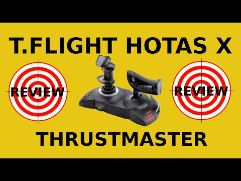 Office Chair Joystick Mount Faux Leather Dining Chairs Thrustmaster T.flight Hotas X Review - Entry Level Hota... | Doovi