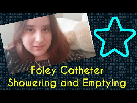 Foley Catheter Showering and Emptying