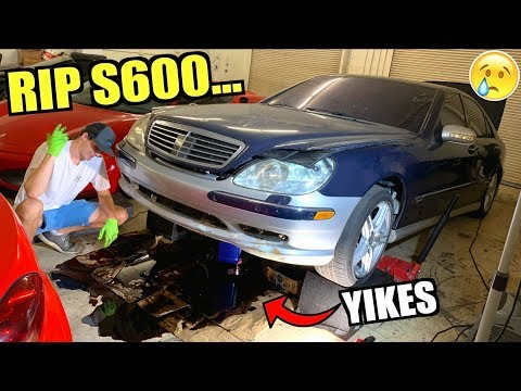 Bad News For The $850 V12 Mercedes S600 Salvage Rebuild... (Part 4)