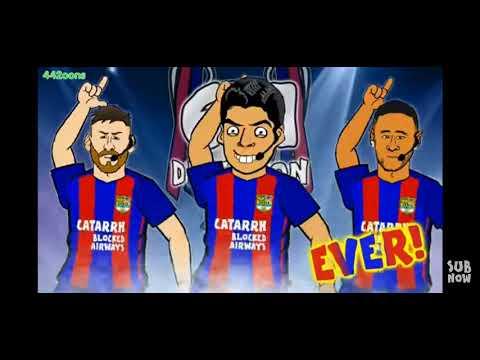 Барселона одержала победу над Псж 6:1 камбэк