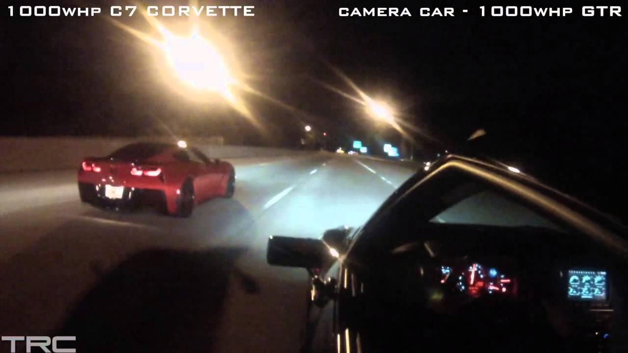 INSANE STREET RACING in Atlanta! - YouTube