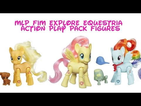 MLP FIM Explore Equestria-Action Play Pack Figures
