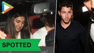 SPOTTED: Cute couple Nick Jonas & Priyanks Chopra at St.Catherine home NGO