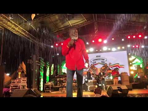 Freddie McGregor concert in Kenya(4K)