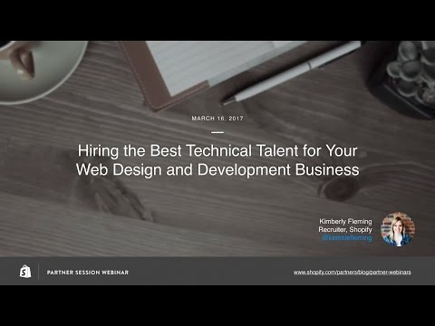 How to Hire the Best Technical Talent for Your Web Design and Development Business // Kim Fleming