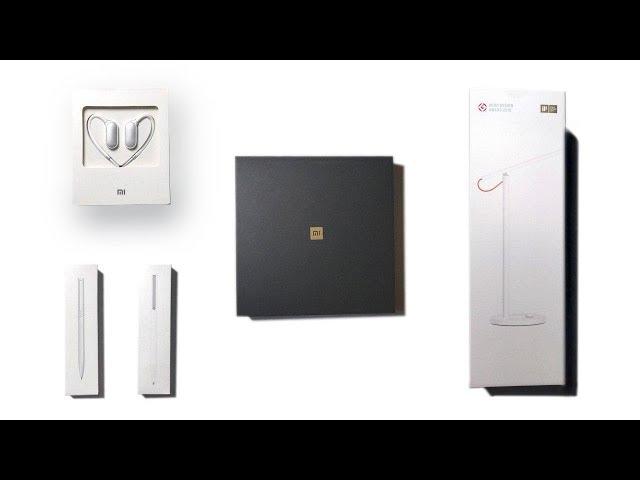 Hatalmas Xiaomi kicsomagolás - Mi Mix 2S, LED Lámpa, Golyóstoll