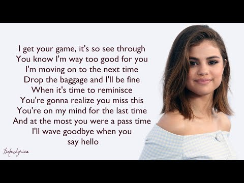 Selena Gomez & The Scene - Sick Of You (Lyrics) 🎵