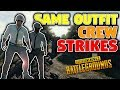 SAME OUTFIT CREW STRIKES | PUBG Team Game