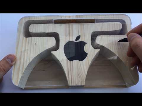 How to Make Wooden Amplifier for iPhone and Other Smartphones