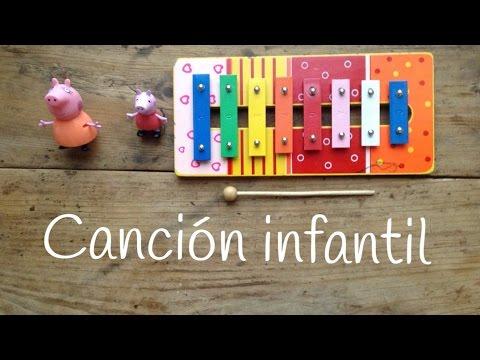 Aprende canciones con xilófono: canciones para niños fáciles de tocar