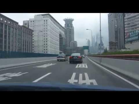 Driving in Shanghai