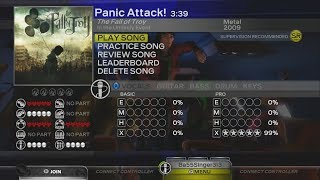 """Rock Band: Custom Song """"Panic Attack!"""" (Available for Download for All Consoles)"""