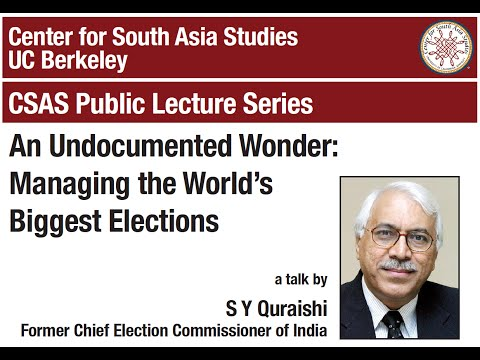An Undocumented Wonder: Managing the World's Biggest Elections