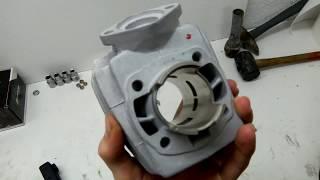 préparation cylindre de peugeot fox pour 103 SP