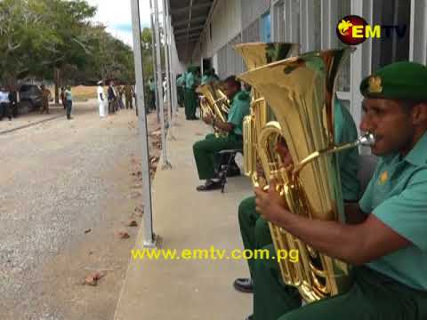 Japanese Embassy Gifts Musical Instruments to PNGDF Military Band