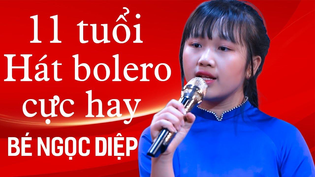 Phát Sốt Với Giọng Ca Nhí 11 Tuổi Làm Lụi Tim Cả Phòng Trà| Cõi Nhớ – Bé Ngọc Diệp Bolero