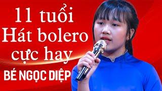 Phát Sốt Với Giọng Ca Nhí 11 Tuổi Làm Lụi Tim Cả Phòng Trà| Cõi Nhớ - Bé Ngọc Diệp Bolero