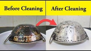 கறைபிடித்த அலுமினியம் பாத்திரத்தை பளபளப்பு ஆக்குவது எப்படி     How to Clean Old Aluminium Vessel