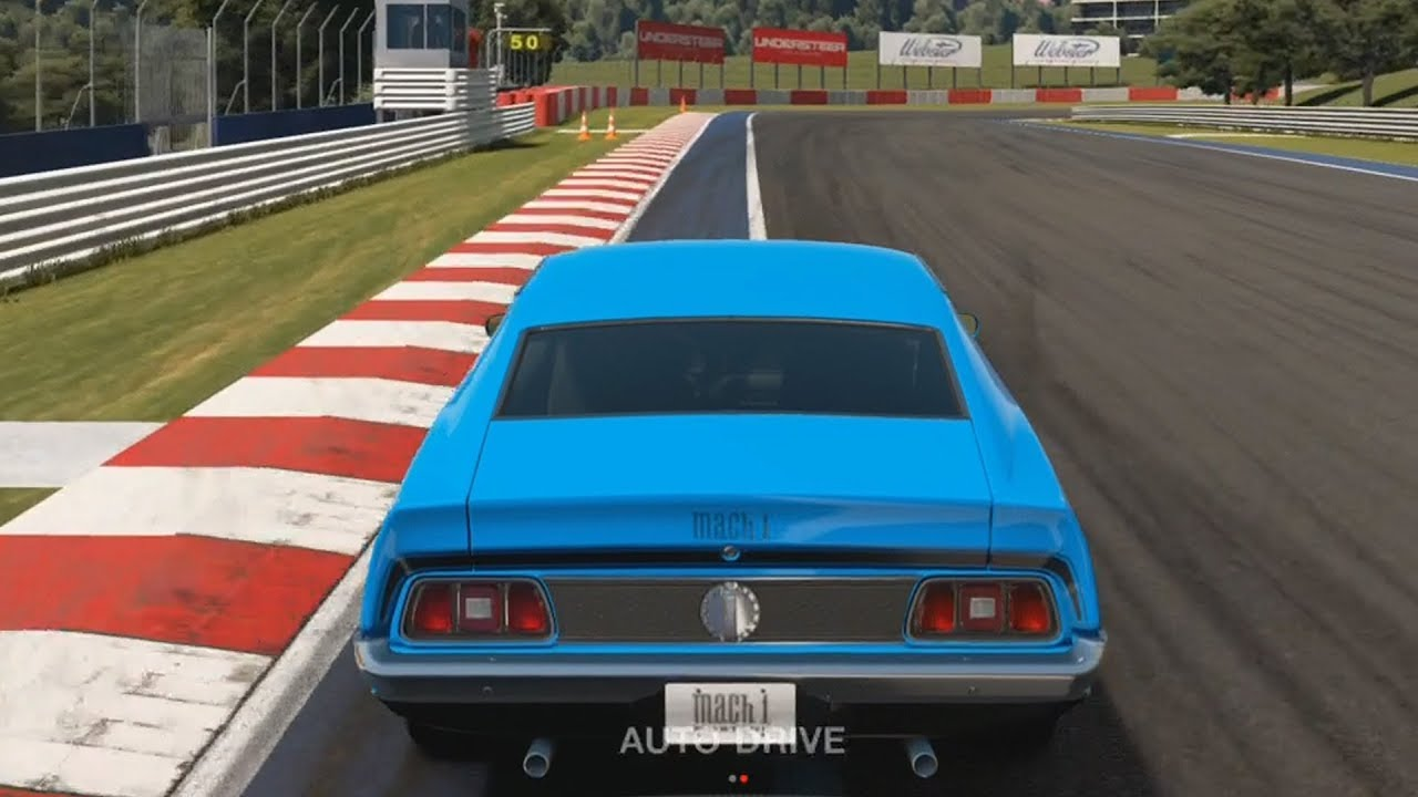 gran turismo sport ford mustang mach 1 1971 test drive gameplay ps4 hd 1080p60fps youtube. Black Bedroom Furniture Sets. Home Design Ideas