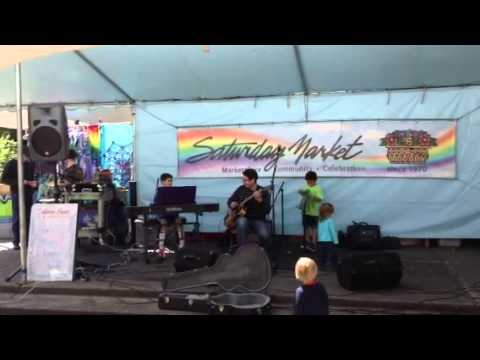 The Olem Alves Family Band performs a jazz classic
