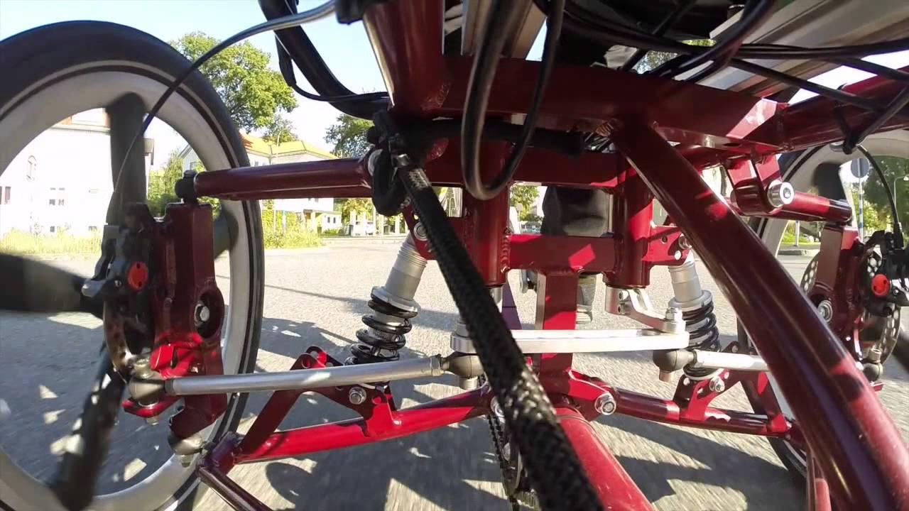The Suspension Of The Velove Armadillo Cargo Bike