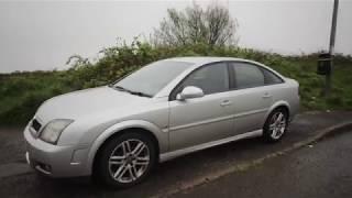 Vauxhall Vectra SRI 2005 Silver not VXR test drive review second hand car part 1