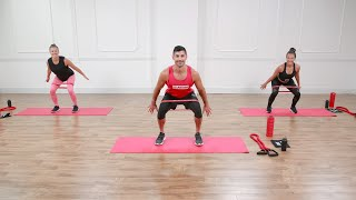 45-Minute Calorie-Torching, Low-Impact Workout