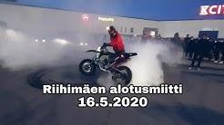 Riihimäen alotusmiitti 16.5.2020 (feat. poliisi)