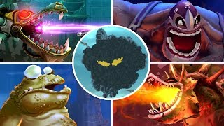 Rayman Legends Definitive Edition - All Bosses