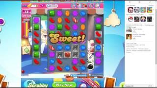 candy crush saga level 1378 no booster 3 stars 465 k pts
