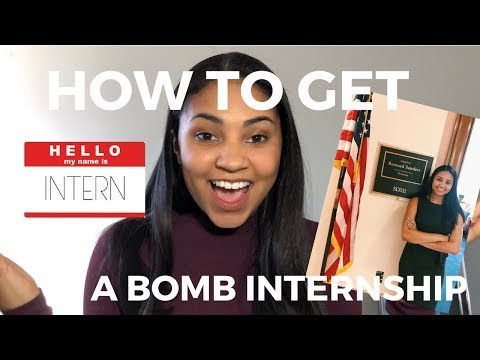 HOW TO GET AN INTERNSHIP | Capitol Hill, NBCUniversal, More!