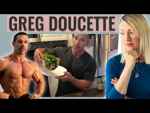 Dietitian Reviews Fitness Influencer GREG DOUCETTE What I Eat In A Day