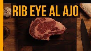 Rib Eye con costra de Ajo y Chile | Munchies Lab