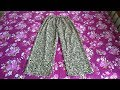 Palazzo pant cutting and stitching very easy method   full video