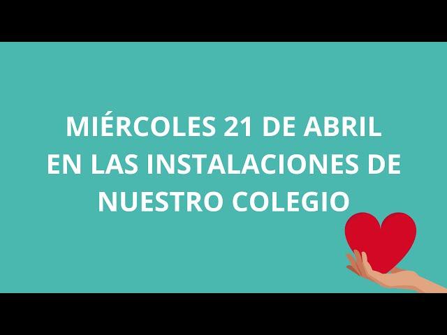Campaña Donación de Sangre de Colegio Pumahue Puerto Montt