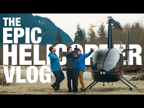THE EPIC HELICOPTER VLOG! | CANADA VLOG #4