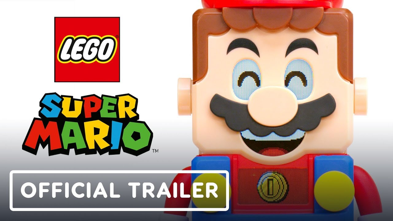LEGO Super Mario Reveal Tráiler + vídeo
