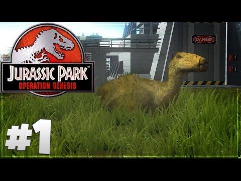 Jurassic Park: Operation Genesis - Part 1: Let