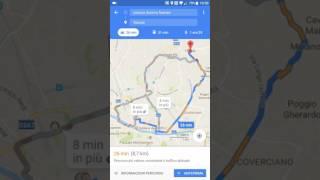 Creare un itinerario anche a tappe con Google Maps per cellulare screenshot 1