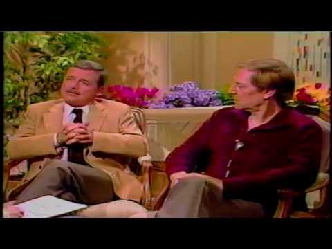 William Daniels and John Cullum ed by Gene Shalit, TODAY 8Apr1986